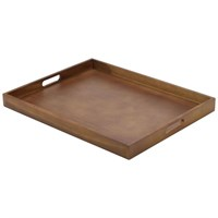 Butlers Tray Wooden 535x425x45mm