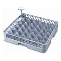 Genware 36 Comp Glass Rack With 1 Extender