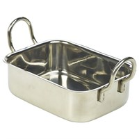Mini Stainless Steel  Roaster 13x10x4.3cm
