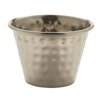 Ramekin Stainless Steel Hammered Ramekin 2.5oz