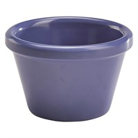 Ramekin Melamine Smooth 1.5oz  Blue