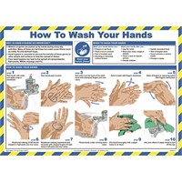 'How to Wash Your Hands' Sign