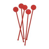 Disk Stirrer Red 18cm