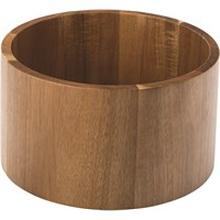 Punch Barrel Acacia Stand / Bowl 21.5cm 8.5in