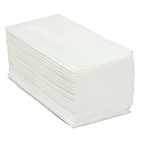 Napkin 40cm Pop In Fold Fabric Style White