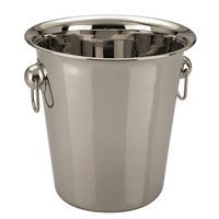 Ice Bucket Stainless Steel Tulip 5L