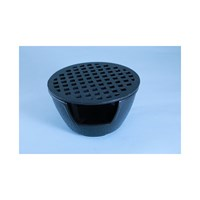 Warmer Cast Iron Black 15 x 8.5cm