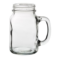 Cocktail Glass Tennessee Handled Jar 63cl 22oz