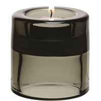 Nightlight Holder Black Double Ended 7cm 2.75in