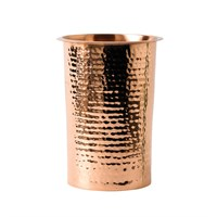 Wine Cooler Copper Hammered 16.5H x 12D cm
