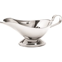 Gravy Boat Stainless Steel 15oz 43cl