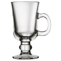 Coffee Latte Glass Irish 8oz 23cl