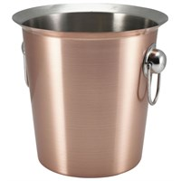 Wine Bucket With Ring Handles Copper 4L