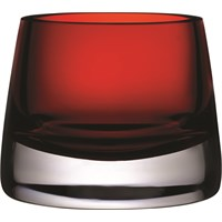 Candle Holder Votive Small Rouge Red
