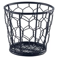 Fry Basket Black Wire 10 x 9cm