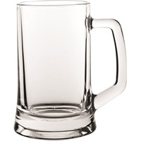 Beer Mug Glass 40cl 14oz