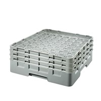 Glass Rack 49 Comp 3 Extenders Grey