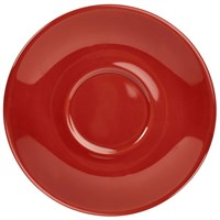 Saucer Red China 16cm