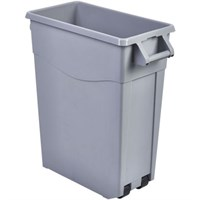 Bin Slim Hanle Grey Recycling 67cm H