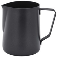 Milk Frothing Jug Non-Stick Black 34cl 12oz