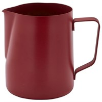 Milk Frothing Jug Non-Stick Red 34cl 12oz