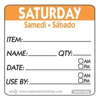 Label SAT 5cm sq UltraRemovable Food