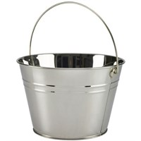 Bucket Serving Stainless Steel 25cm