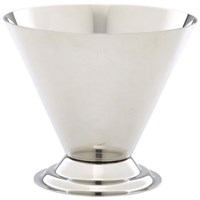 Ice Cream Cup Conical Stainless Steel