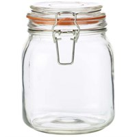 Terrine Jar Glass 1L