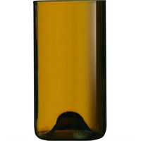 Bottle Tumbler Highball Amber Glass 48cl