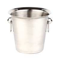 Wine Bucket Ring Handles Steel 20cm