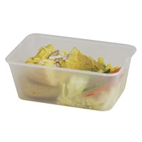 Microwaveable Container & Lid 100cl