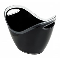 Beer Champagne Bucket Plastic Black 8L