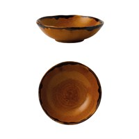 Bowl Large Harvest Brown 15cm