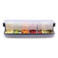Bar Fruit Dispenser With Lid 6 Part