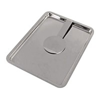 Tip Tray with Bill Presenter Stainless Steel