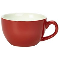 Bowl Shaped Cup 17.5cl/6oz Red