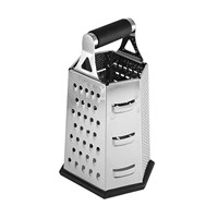 Grater 6-sided S/s