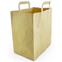 Large recycled paper carrier 11.6l