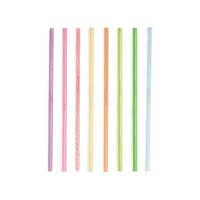 Straw Reusable Assorted Colours 20cm