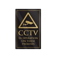 Sign - CCTV in Operation