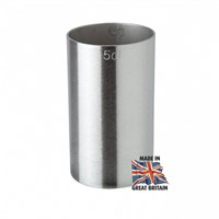 Thimble Measure 5cl Stamped Stainless Steel