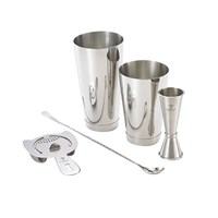 Barfly Basics Kit Stainless Steel