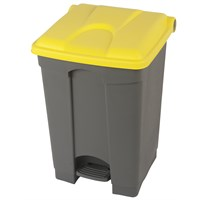 Step On Container All Yellow 45L