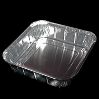 Takeway Foil Container 23x23x5cm with 435778