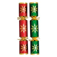 "Christmas Cracker Red/Green Star 35.6cm (14"")"