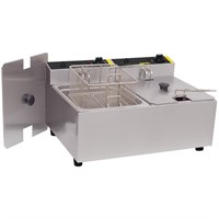 Fryer Twin Basket C/Top Elec Twin Tank - 2 x 5L