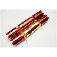 Christmas Cracker Gold/Tartan (12'')