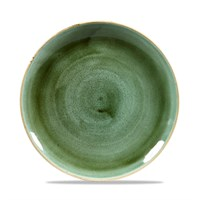 Coupe Plate Stonecast Samphire Green 21.7cm