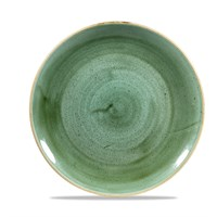 Coupe Plate Stonecast Samphire Green 26cm